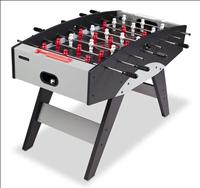 Sturdy Build Football table, Black Colour With Attractive Grey Shadow Printing, Scorers Located Behi - CLICK FOR MORE INFORMATION