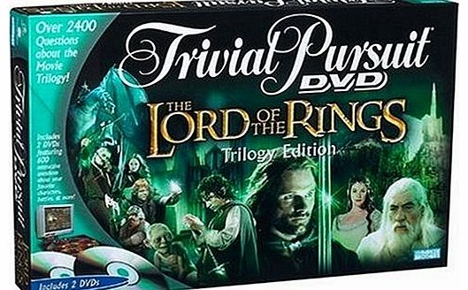 Hasbro Lord of the Rings Trivial Pursuit DVD Game product image