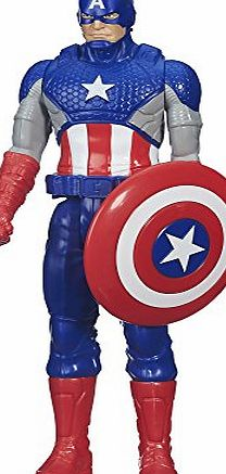 Hasbro Marvel Titan Hero Series Captain America Figure