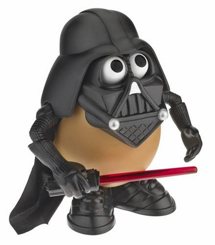 Dress up the potato you love as the famous Star Wars villain! - CLICK FOR MORE INFORMATION