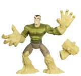 Hasbro The Spectacular Spiderman Animated Sandman Figure product image