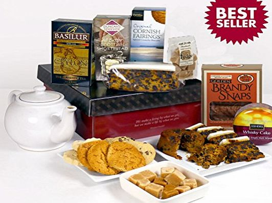 Hay Hampers Traditional Afternoon Tea Time Delights Hamper Box