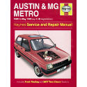 Austin/MG Metro (80 - May 90) up to G