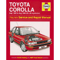 Toyota Corolla (Sept 87 - Aug 92) E to K