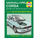 Vauxhall/Opel Corsa (Apr 97 - Oct 00) P to X