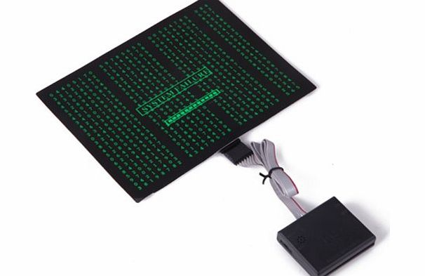 HDE Sound-Activated Rave LED Panel w/ Sensor Module - System Failure product image