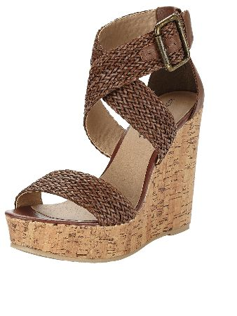 Ladies Garner wedge platform sandals Perfect for adding some boho chic style to your summer wardrobe Heel Height: 4.5 - CLICK FOR MORE INFORMATION