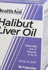HealthAid HEALTH AID HALIBUT LIVER OIL CAPS 90 (PACK OF 2)