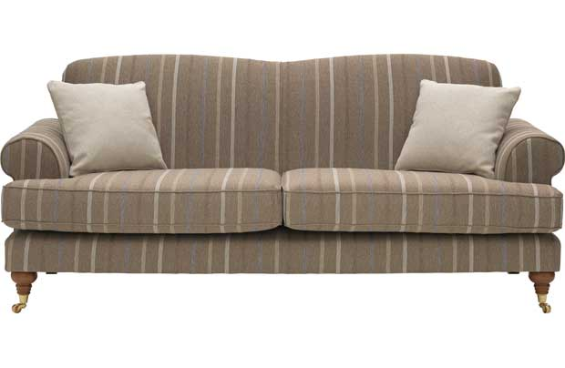 Sherbourne Striped Large Sofa -