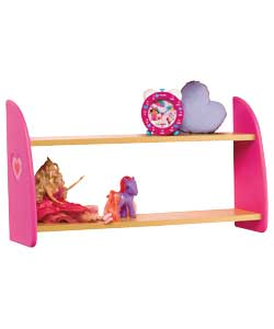 Hearts 2 Shelf Unit product image