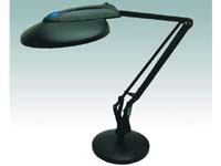 Helix VL9 black desk lamp with 18 watt