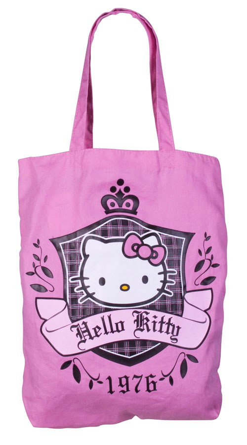 Hello Kitty Canvas Tote Bag.