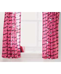 Hello Kitty Curtains - 66 x 54 inches