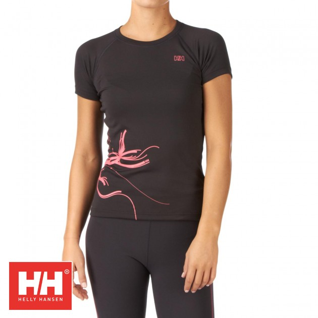 Helly Hansen Womens Helly Hansen Forest Trail T-Shirt - Ebony product image
