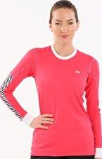 Helly Hansen, 1297[^]258971 Womens HH Active Flow Long Sleeve Crew - Pink Glow