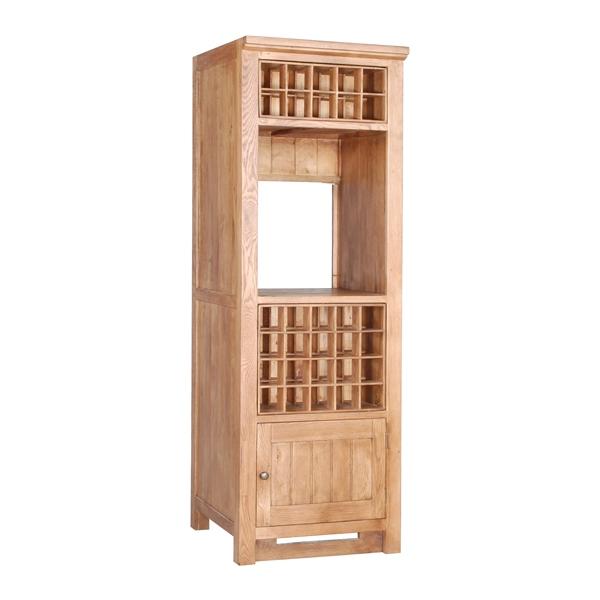 Henbury wine racks - Tall corner wine rack ...