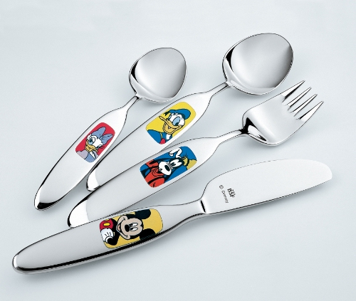 Henckel Walt Disney Characters Cutlery Set