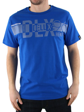 Henleys Skydiver Blue Davo T-Shirt product image