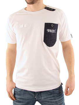 Henleys White Morri T-Shirt product image