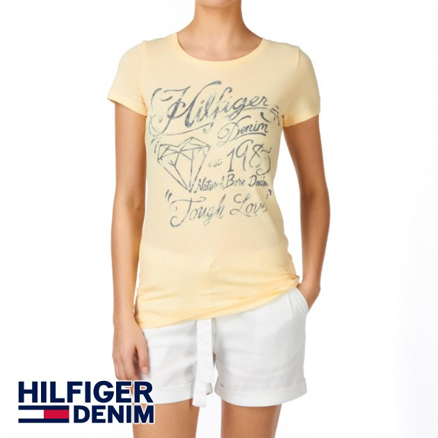 Hilfiger Denim Womens Tommy Hilfiger Lala T-Shirt - Double Cream product image