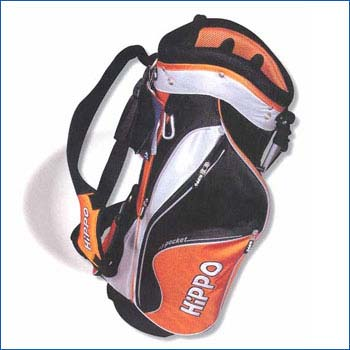 H200 DUAL-STRAP LIGHTWEIGHT STAND BAG BLK/SLVR/RED