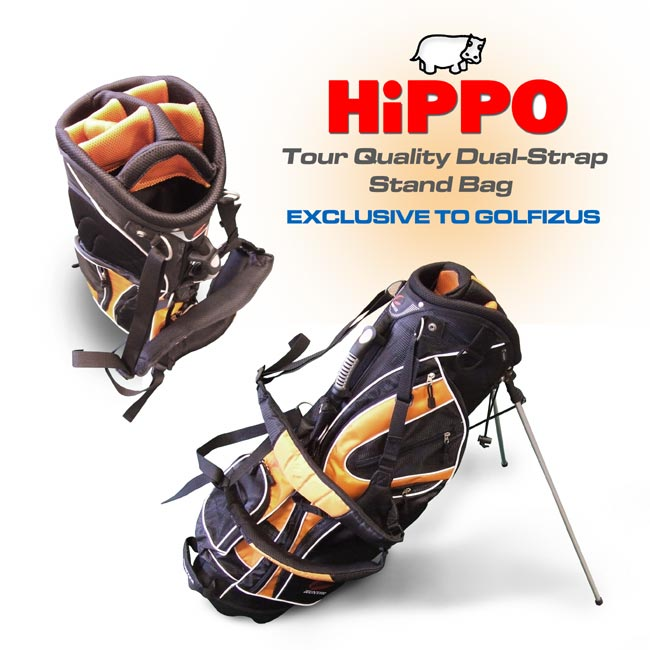 Hunter Lightweight Golf Stand Bag PLUS STUBURT GOLF SHOES