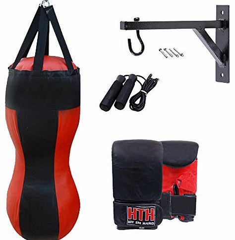 Focus Pad Boxing Set Hook Jab Mitts Punching Training Sparring Bag Gloves MMA