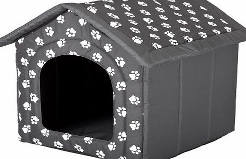 HOBBYDOG Dog or Cat Kennel / House / Bed S - XL Paw Design