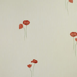 Holden Poppy Textured Vinyl Wallpaper Red 77765 Review