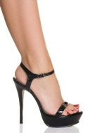 6 Inches / 15cm heel and 1 Inches / 2.5cm platform. A fabulous new construction with a steel-reinfor - CLICK FOR MORE INFORMATION