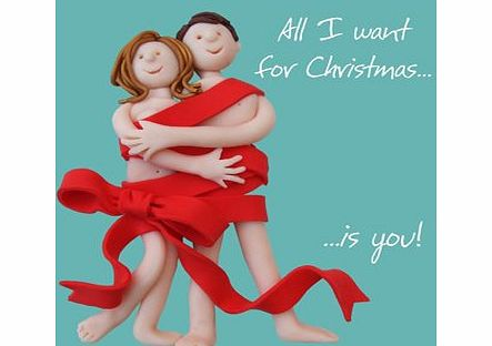 Holy Mackerel All I Want For Christmas Is You - The One I Love Christmas Card