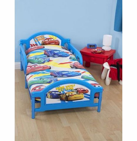 sweet home disney cars speed boys junior toddler cot bed set 4 in 1