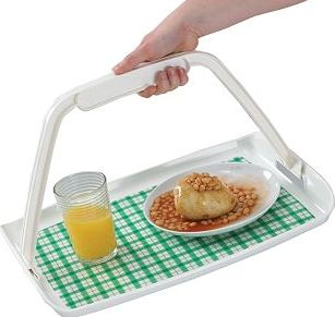 Homecraft, 2041[^]10043745 Freehand Tray with Non-slip Mat 10043745