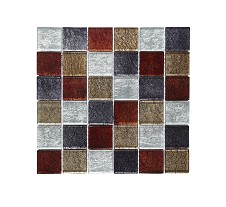 Autumn Mix Square Mosaic