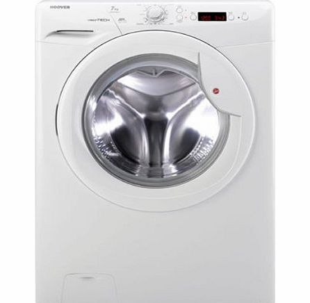 Hoover VTS714D21 1400rpm Slimdepth Washing Machine 7kg Load A+ White product image