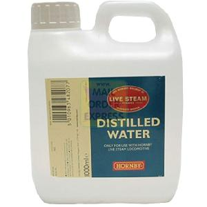 Hornby live steam distilled water