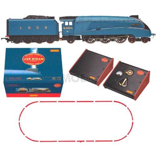 Hornby Mallard Live Steam Set  R1041 Mallard Train Toy