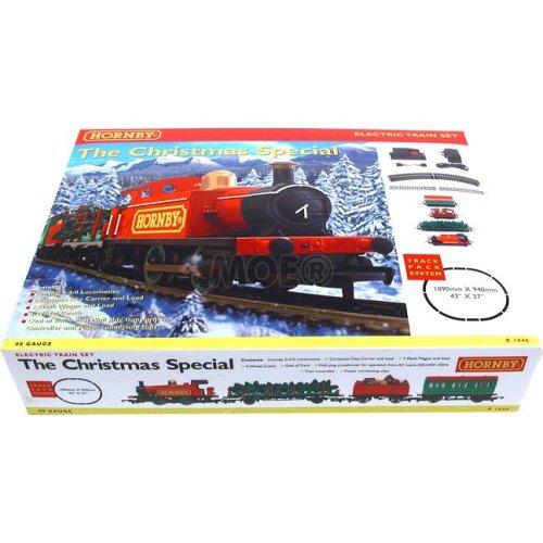 Christmas train set uk version