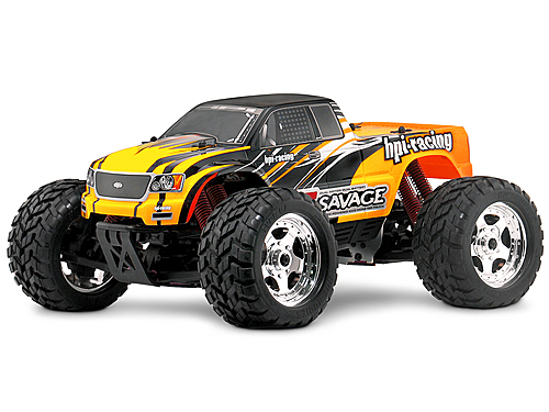 Hot Bodies E-Savage Truck 1/10 RTR product image