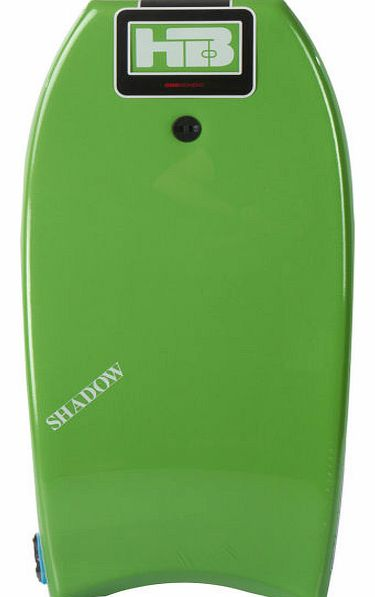 Mens Hot Buttered Shadow PE Green Bodyboard -