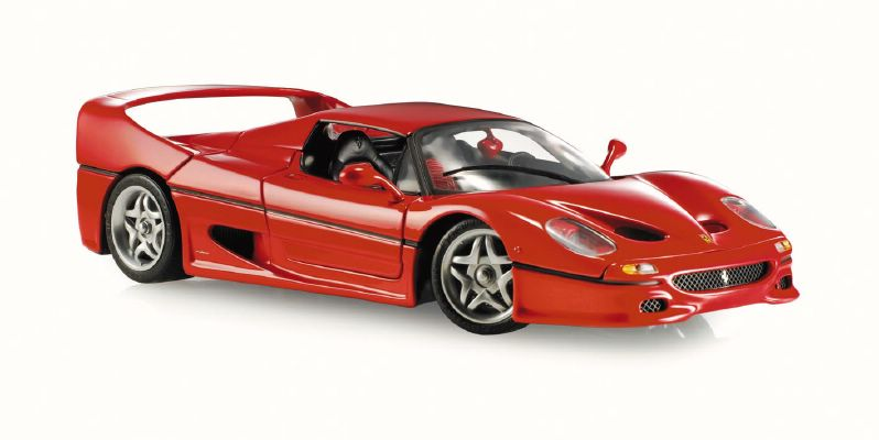 Hot Wheels Elite Ferrari F50 1995 in Red