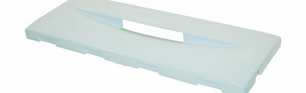 Hotpoint Ariston Hotpoint Indesit Fridge Freezer Drawer Front, White. Genuine Part Number C00086425 product image