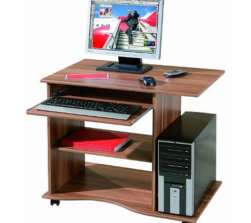 House Additions Computer Desk with Storage Shelves product image