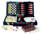 House of Marbles 6-in-1 Travelling Games Compendium product image