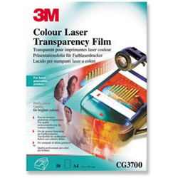 3M OHP Laser Copier Film for Hewlett Packard