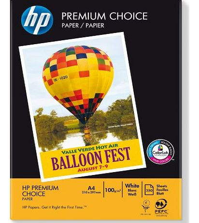 HP A4 100GSM Premium Choice Paper product image