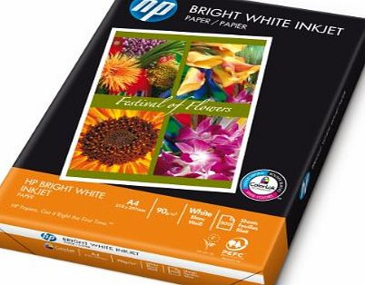 HP Bright White - Plain paper - bright white - A4 (210 x 297 mm) - 90 g/m2 - 500 sheet(s) product image