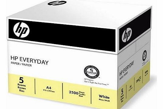 Everyday A4 Multifunctional Paper 75gsm - 1 Box of 5 Reams (Pack of 5)
