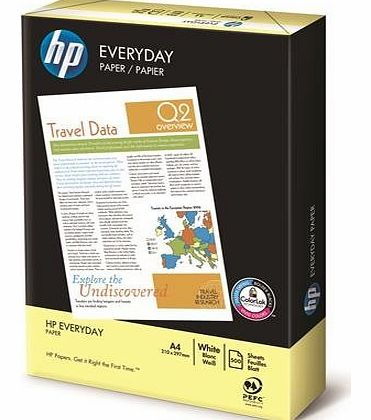 EVERYDAY A4 White Paper - 1 REAM / PACK Of 500 Sheets