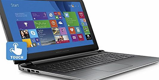HP Full HD Touchscreen 15.6`` Pavilion Notebook: Intel i5-5200U Processor, 1920 x 1080, 8GB Memory, 1TB Hard Drive, Super Multi DVD Burner, Wireless, Bluetooth, Win 8.1